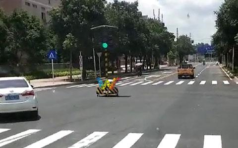 portable led traffic light-2