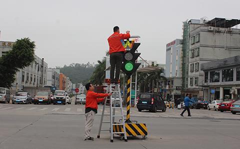 portable led traffic light-3