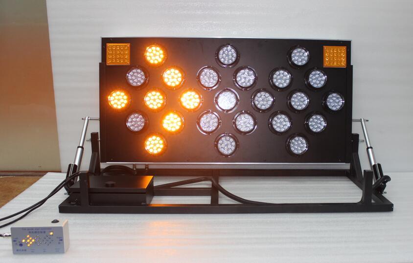 Wide way customized design folding stand LED arrow board