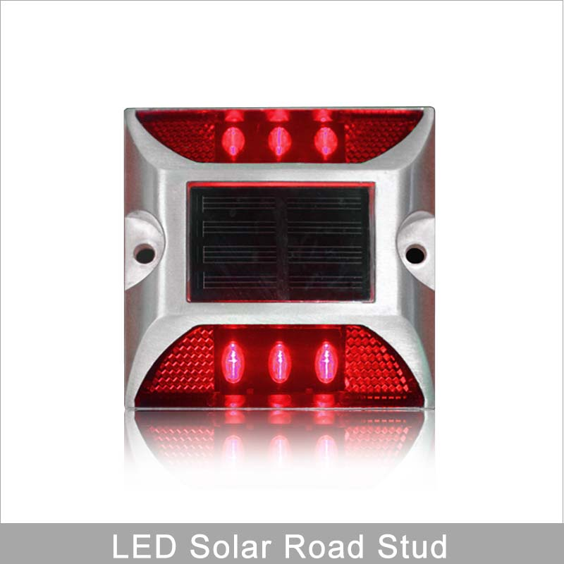 10 Years Manufacturer Red Led Flashing Light Road Safety