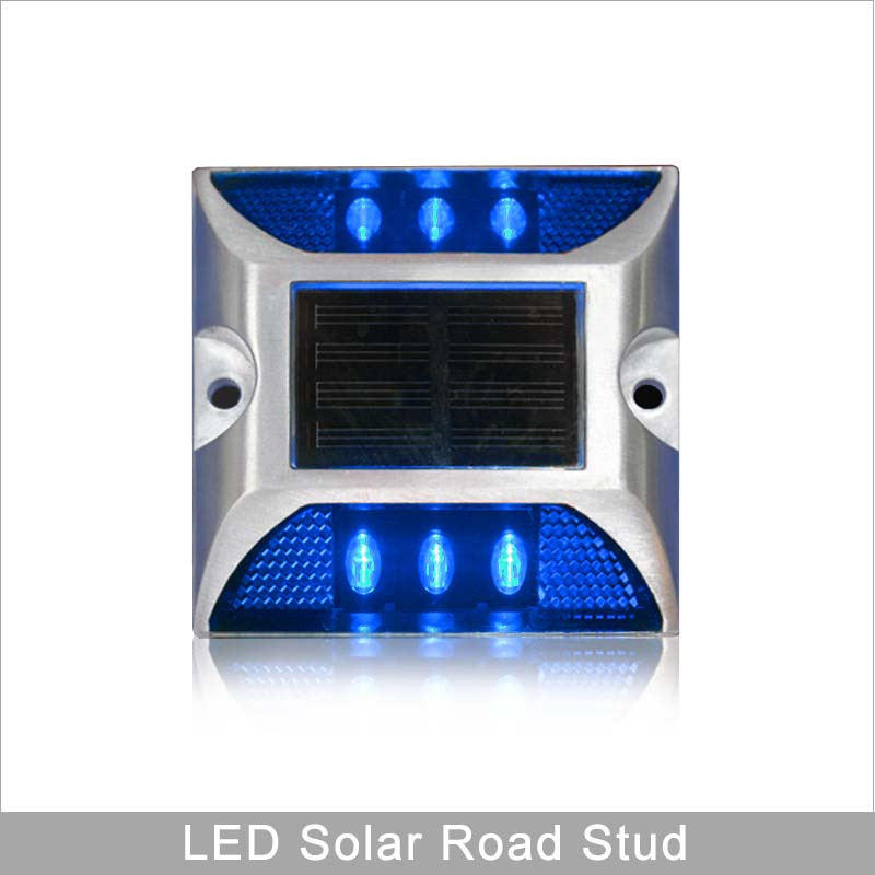 Customized Supplier For Road Safety Aluming Housing Blue