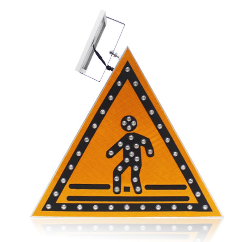 triangle-LED-pedestrian-sign-board-solar-traffic (1)