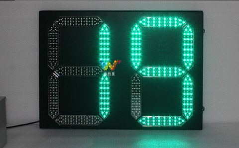 what's the characteristics of the double 8 countdown timer Traffic Light?